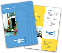 Architecture Residential Architect brochure-templates