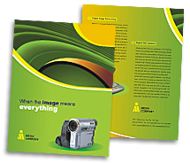 Media Digital Camera brochure-templates
