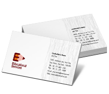 Educational Educational Supplies business-card-templates