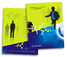 Hosting Web Solutions brochure-templates