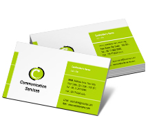Communications Communication Systems business-card-templates