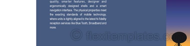 Actual Brochure  Design For Mobile Communication Service