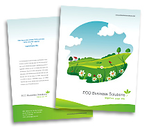 Brochure Templates eco friendly products