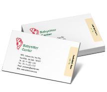 Business Card Templates social activities