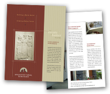 Brochure Templates architectural design service
