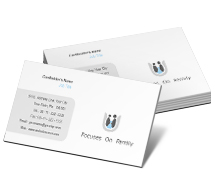 Social & Cultural Family Care business-card-templates