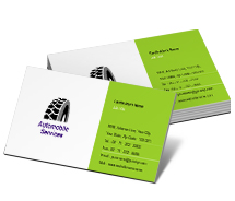 Business Card Templates wheel alignment