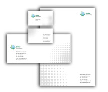 Corporate Identity Templates global communication systems