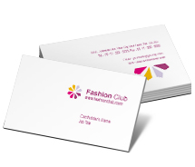 Beauty Fashion Business Club business-card-templates