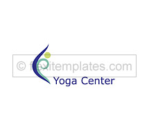 Logo Templates yoga centre