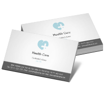 Business Card Templates heart care