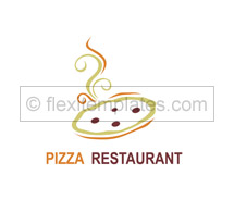 Logo Templates pizza corner