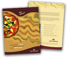 Brochure Templates fast food restaurant