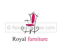 Architecture Furniture Showroom logo-templates