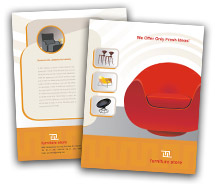 Brochure Templates furniture stores