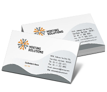 Hosting Hosting Business Solutions business-card-templates