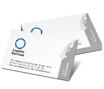 Logistics Business Logistics business-card-templates