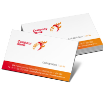Business Card Templates cricket academy