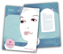 Brochure Templates fashion store