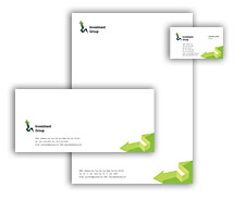 Corporate Identity Templates finance customer services