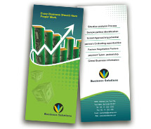 Finance Business Finance Solution brochure-templates