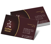 Business Card Templates coffee house