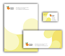 Corporate Identity Templates canning