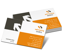 Computers Web Hosting Service business-card-templates