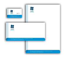 Corporate Identity Templates textile industry