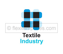 Logo Templates textile industry