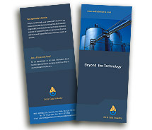 BrochureTemplates Industrial Oil Company Two Fold