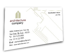 Architecture Architectural Designers BusinessCardTemplates