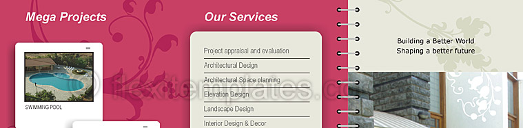 Actual Brochure  Design For Building Constructions