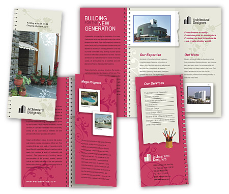 Complete Brochure  View with Layout For Building Constructions