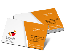 Business Card Templates logistics source