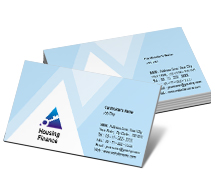 Finance Housing Finance business-card-templates