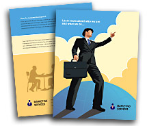 Finance Corporate Finance Services brochure-templates