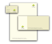 Corporate Identity Templates tree nursery