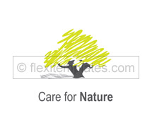 Nature Tree Nursery logo-templates