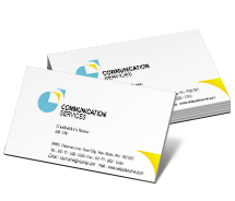 Business Card Templates communication technology