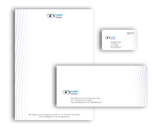 Corporate Identity Templates eye centre