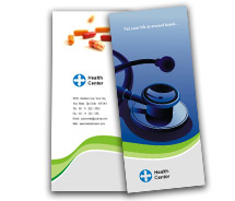 Brochure Templates health centers