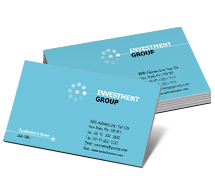 Finance Investment Financial business-card-templates