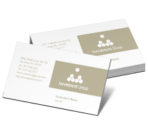 Business Card Templates investment group