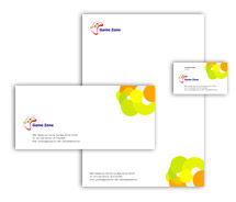 Corporate Identity Templates game zone