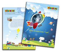 Entertainment Kids Activities brochure-templates