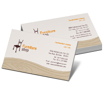 Stores & Shops Furniture Bazaar business-card-templates