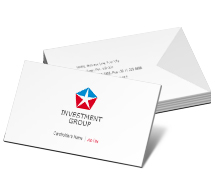 Business Card Templates investment banks