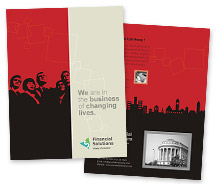 Brochure Templates financial service