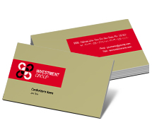 Finance Industry Investment business-card-templates